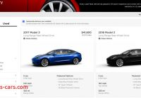 How Many Tesla Model 3 sold Lovely Tesla Drops A Bunch More Used Model 3 Inventory at