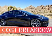 How Many Tesla Shares are there Elegant Tesla Model 3 Cost Breakdown How Much Ive Spent In 6