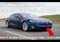 How Many Tesla Shares are there New Tesla Cost Of Ownership Youtube