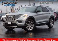 How Much Can 2020 ford Explorer tow Fresh New 2020 ford Explorer Platinum with Navigation & 4wd