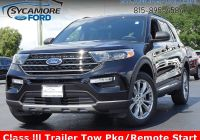 How Much Can 2020 ford Explorer tow Luxury New 2020 ford Explorer Xlt 4wd