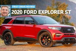 Lovely How Much is 2020 ford Explorer St