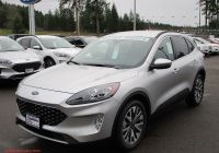 How Much is A 2020 ford Escape Titanium Luxury New 2020 ford Escape Titanium Hybrid In Shelton