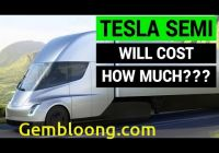 How Much Tesla Truck Cost Beautiful Tesla Semi Truck Will Cost How Much Youtube