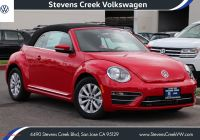 How Often Oil Change Vw Beetle Unique New 2019 Volkswagen Beetle Convertible S Convertible In San