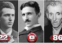How Tesla Died New Nikola Tesla Transformation From 10 to 86 Years Old