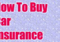 How to Buy Auto Insurance Luxury How to Buy Car Insurance Youtube