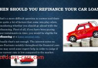 How to Refinance A Car Loan Unique What is Car Loan Refinance and Whats the Best Time for It