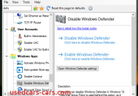 How to Stop Windows Defender Windows 10 Beautiful Disable Windows Defender In Windows 10 Fall Creators Update