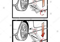 How to Use A Car Jack Luxury Instructions On Use Car Jack Stock Vector Royalty Free