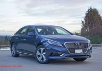 Hyundai sonata Plugin Unique 2016 Hyundai sonata Plug In Hybrid Ultimate Road Test
