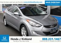 Hyundai Used Cars Awesome Pre Owned 2013 Hyundai Elantra Gls 4dr Car In Kirkland A
