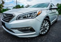 Hyundai Used Cars Luxury 2015 Hyundai sonata Limited Fwd Luxury Sedan Worldtranssport