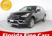 Infiniti Used Cars New Used 2017 Infiniti Qx50 Awd Suv for Sale In Hollywood Fl