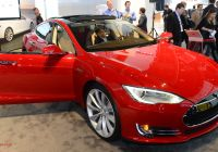 Inside Tesla Car New Tesla Moves Ahead Of Google In Race to Build Self Driving
