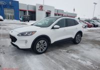 Is the 2020 ford Escape Smaller Luxury New 2020 ford Escape Sel In Ottumwa Ia Clemons Inc Of Ottumwa