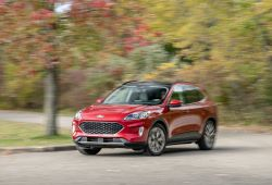 Beautiful is the 2020 ford Escape Smaller