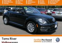 Is Volkswagen Beetle A Sports Car Awesome Certified Pre Owned 2019 Volkswagen Beetle Convertible S Fwd Convertible