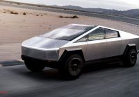Itesla Pickup Awesome Tesla Cybertruck Revealed S Details On the Wild New
