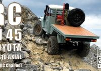 Jeep Cherokee Off Road Inspirational Rc Axial Scx10 toyota Fj45 Extreme Road In the Mountains