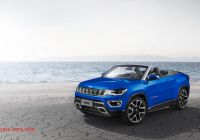 Jeep Convertible Elegant Jeep Compass Convertible Front Three Quarters Rendering