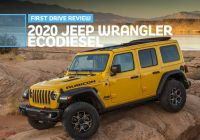 Jeep Price Elegant 2020 Jeep Wrangler Unlimited Ecodiesel First Drive Jeep Ain