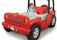 Jeep toddler Car New Jeep Wrangler toddler to Twin Bed