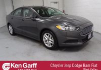 Ken Garff Used Cars Lovely Pre Owned 2016 ford Fusion Se 4dr Car In West Valley City 1dd6235