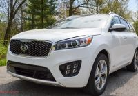 Kia sorento 2016 Reviews Fresh Review 2016 Kia sorento Sx V6 95 Octane