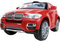 Kids Electric Cars 2 Seater Elegant Bmw X6 6 Volt Electric Battery Powered Ride On toy by Huffy