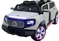 Kids Electric Cars 2 Seater Lovely Megastar Kids 2 Seater 4 Door Rocket Quattro Suv Jeep White