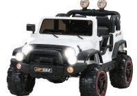 Kids Electric Jeep Fresh White 12v Kids Ride On Cars Electric Battery Power Wheel Remote