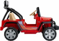Kids Electric Jeep Unique Power Wheels Jeep Wrangler 12 Volt Battery Powered Ride On Red