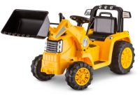 Kids Electric Ride On New Kidtrax Cat Bulldozer Tractor 6v Battery Powered Ride On Yellow