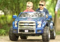 Kids Electric Truck New Car for Kids ford F 150 Power Wheels Youtube