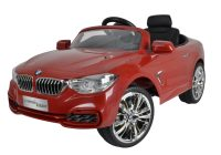Kids Play Car Fresh Remote Control Red Bmw Ride On toy Power Battery Rc Realistic Play