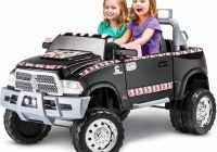 Kids Power Cars Fresh Kid Trax Mossy Oak Ram 3500 Dually 12v Battery Powered Ride On