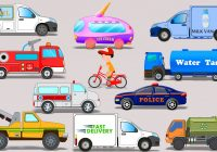 Kids Vehicles New Street Vehicles toy Car Video for Kids