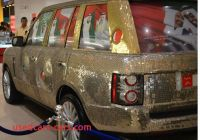 Land Rover Money Factor New Range Rover Covered In Coins the New Money Car