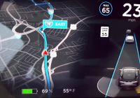 Latest Tesla software Update Inspirational Watch Tesla S Much Improved Navigation and Maps Update In Action