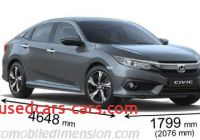Length Of Honda Civic Best Of Dimensions Of Honda Cars Showing Length Width and Height