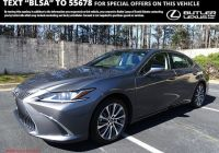 Lexus Current Offers Fresh Pre Owned 2019 Lexus Es Es 350 Luxury 4dr Car In Beaufort