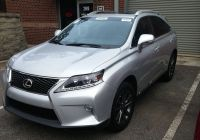 Lexus Johnson New Just In 2014 Lexus Rx 350 F Sport 11 000 Miles Silver On