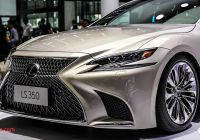 Lexus Ls350 Elegant 2018 Lexus Ls350 Debuts In China Not for Australia