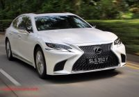 Lexus Ls350 Lovely Lexus Ls 350 Review 2018 when Ls is More Carbuyer Singapore