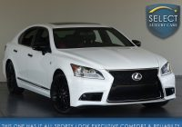 Lexus Used Cars Elegant Used 2015 Lexus Ls 460 Crafted Line