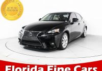 Lexus Used Cars for Sale Awesome Used 2015 Lexus is 250 Sedan for Sale In Margate Fl