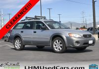Lhm Used Cars Beautiful Pre Owned 2006 Subaru Legacy Wagon Outback 2 5i Station Wagon In