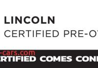 Lincoln Certified Preowned Elegant Lincoln Cpo Program Beach Automotive Group