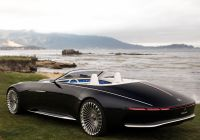 Mercedes-maybach 6 Awesome Vision Mercedes Maybach 6 Cabriolet 2017 года выпуска Фото